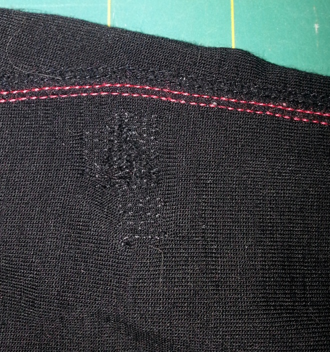 darning a hole in wool tights/leggings