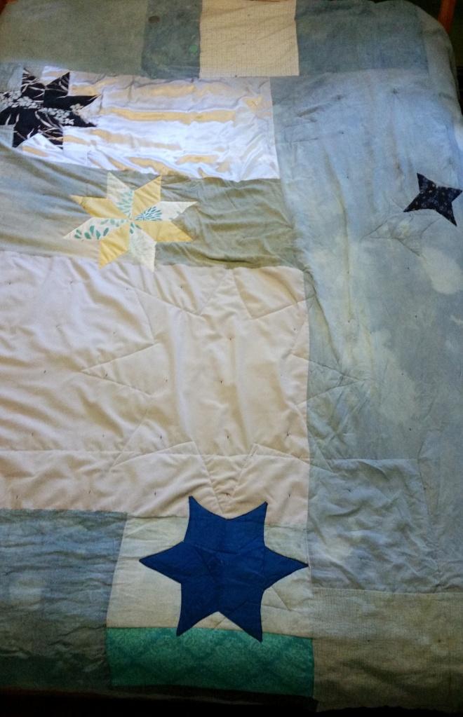 star quilt: 4-point, 6-point, 8-point