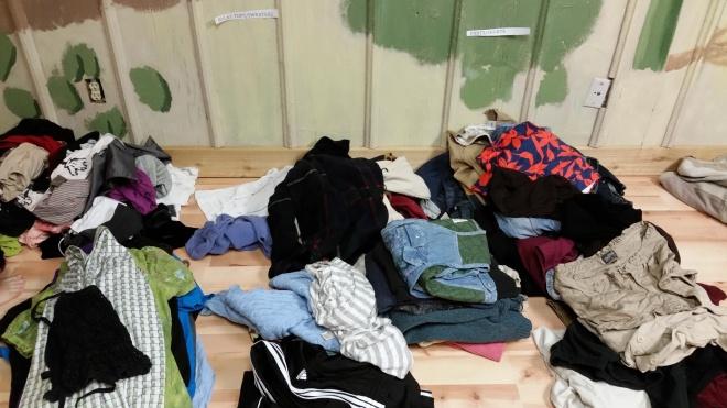 clothing swap organization – shorts and pants