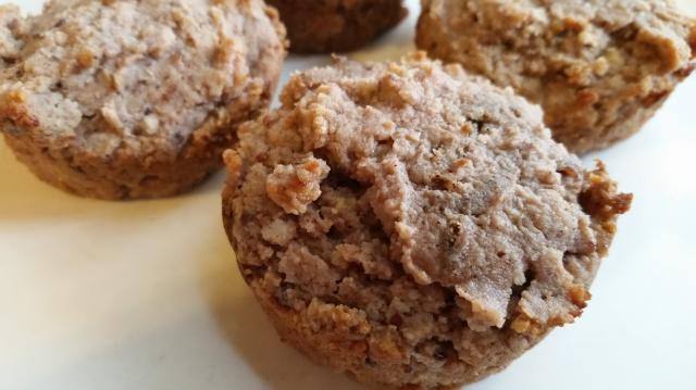 sherry almond gluten-free muffins